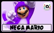 STS Amiibo Nega Mario