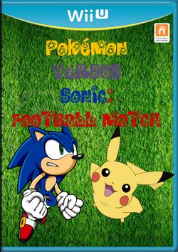 Pokémon Versus Sonic Football Match Carátula By Silver & Co.png