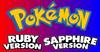 Pokemon Ruby Sapphire Logo