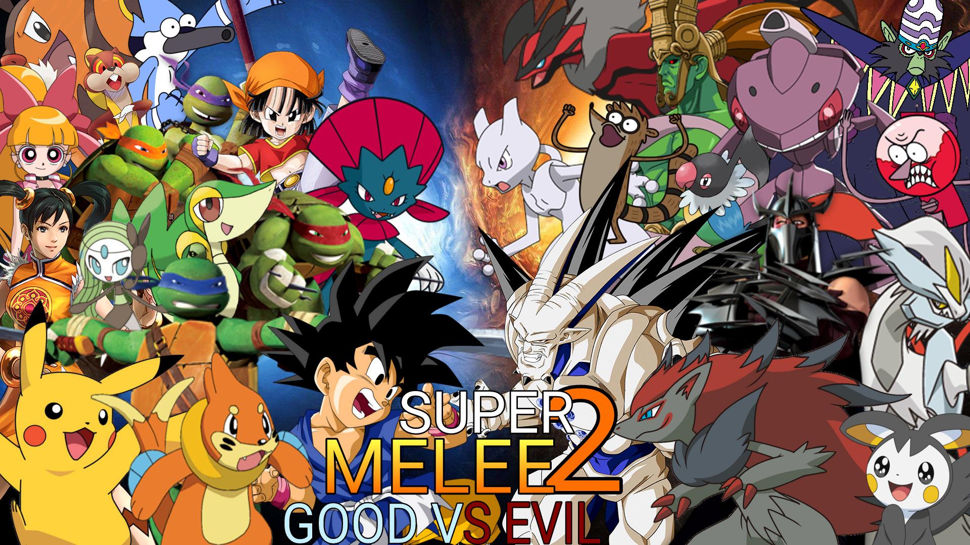 Super Melee 2: Good vs Evil