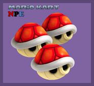 MKNPE Caparazon Rojo Triple