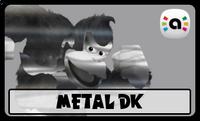 STS Amiibo Metal DK