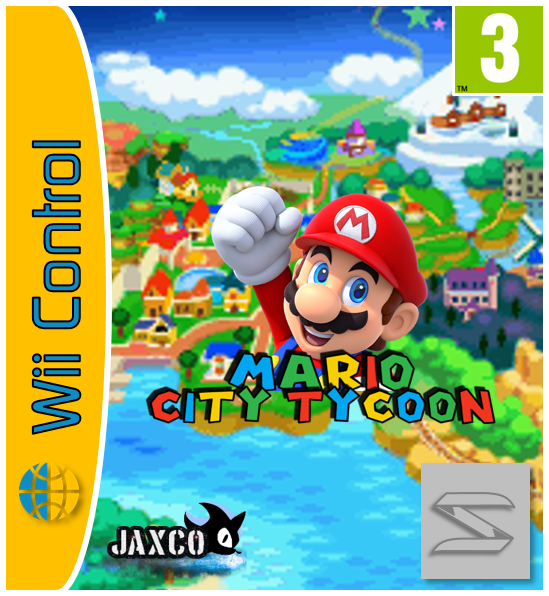 Mario City Tycoon Wii Control Edition