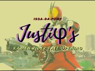 "-JUSTIΦ'S- ""Opening"" (Kamen Rider Faiz-555) sub español-Romanji"