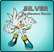 Silver The Hedgehog Remake Icon