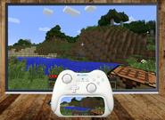 Wii Control Modo TV Anuncio Minecraft