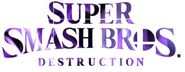 Super Smash Bros. Destruction Logo