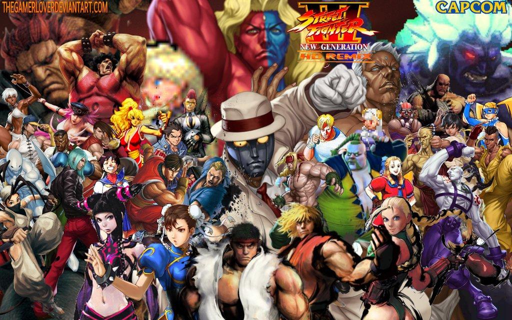 Street Fighter III HD Remix