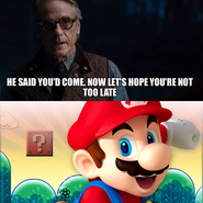 He said you'd come (MH)