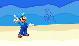 Mario Controlando el Agua
