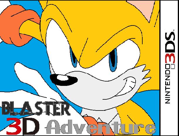 Blaster 3D Adventure
