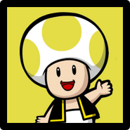 Paper Yellow Toad PN