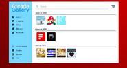 ArcadeOS Web 1.0 - Gallery
