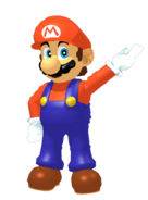 Mario me new n64 era render new pose artwork by supermariojumpan dci3lg3-fullview