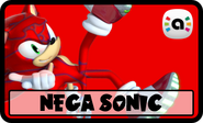 STS Amiibo Nega Sonic