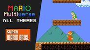 Mario Multiverse All Themes (Super Mario Bros