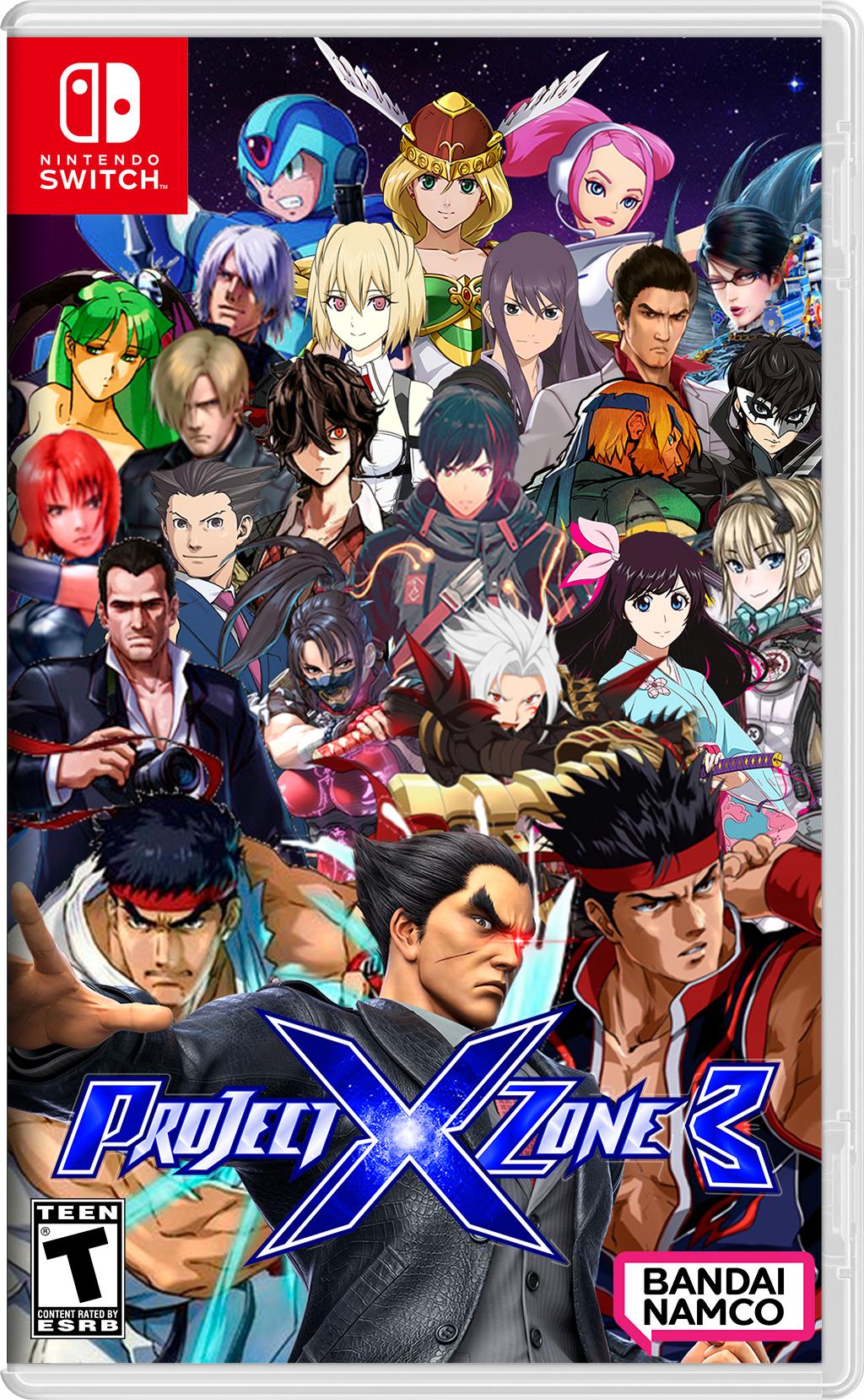 Project X Zone 3: Sacred Destinies