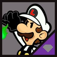 IN Nega Paper Luigi Icon