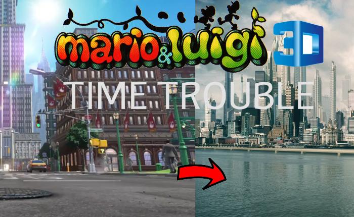 Mario & Luigi 3D: Time Trouble