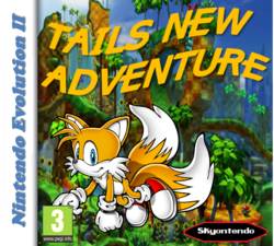 Tails New Adventure Nintendo Evolution II By Silver & Company.png