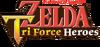 The Legend of Zelda Tri Force Heroes logo