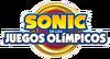 Sonic en los Juegos Olimpicos 2020 Logo