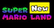 New Super Mario Land - Logo