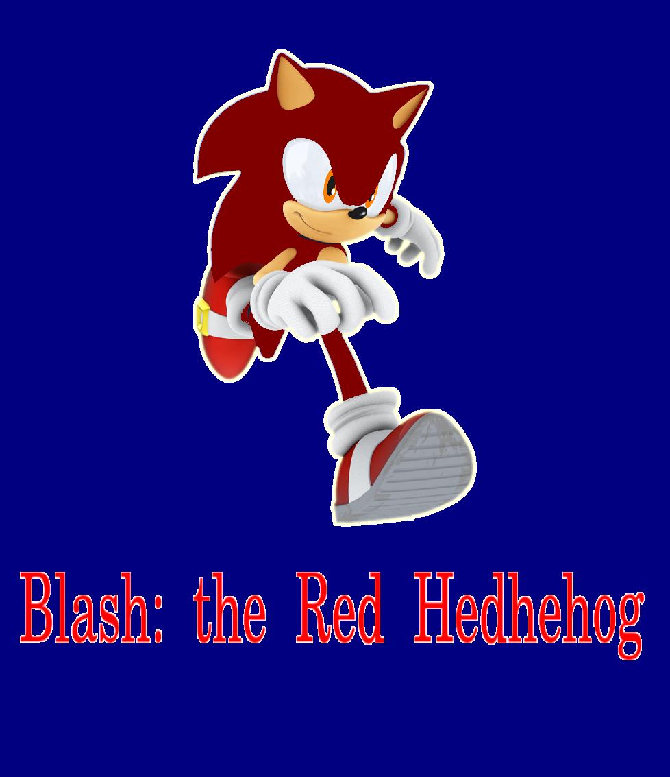 Blash: the Red Hedhehog