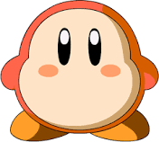 Kirby:¡Swallows , Chews Absorbs!