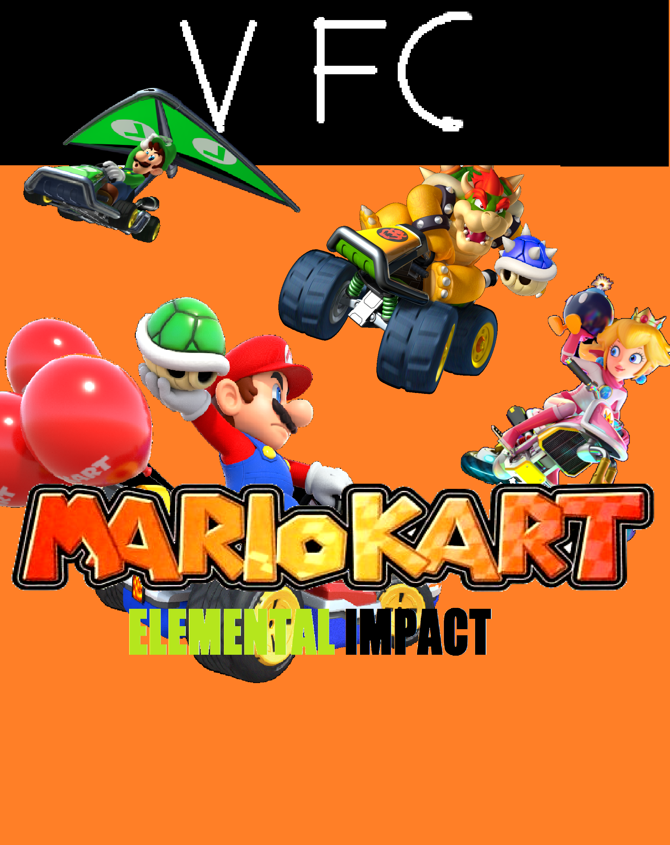 Mario Kart Elemental Impact