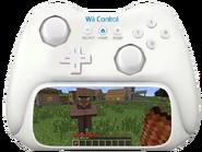 Wii Control Minecraft