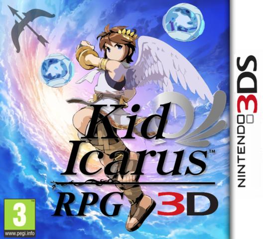 Kid Icarus RPG 3D