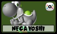 STS Amiibo Nega Yoshi