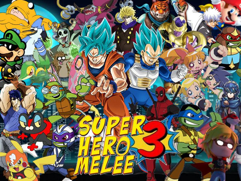 Super Hero Melee 3