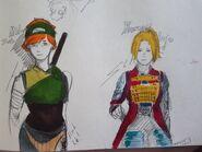 Midori and Yumeji - Sketcher