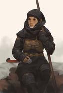 Sayyadian Female Soldier