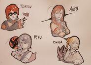 More Akenians - Sketcher