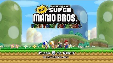 D U Find That Princess New Super Mario Bros Wii Modding Wiki Fandom I just noticed that darkumbra is down. new super mario bros wii modding wiki