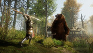 Tame the Wilderness Bear Fight