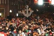 A giant anchor is dropped in Shippensburg, Pennsylvania