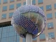 The giant earth is raised in Pittsburgh, Pennsylvania