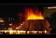 The volcano is erupted in Ottatown, Yiddian