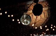 A disco ball is dropped in Germania, Florida