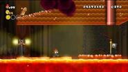 Newer Super Mario Bros Wii World 8-6 Volcano Rapids