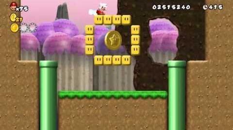 Newer_Super_Mario_Bros_Wii_World_4-A_Hilltop_Town_Star_Coins