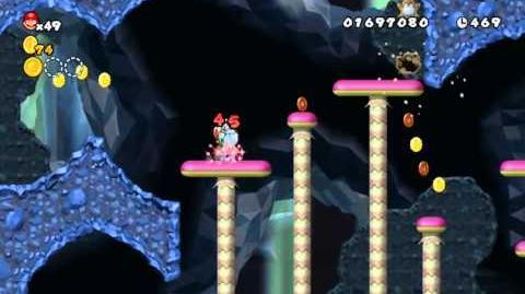 Newer_Super_Mario_Bros_Wii_World_3-2_Grimymole_Mine_Star_Coin