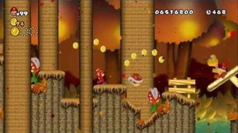 Newer_Super_Mario_Bros_Wii_World_9-2_Brown_Forest