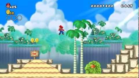 Newer_Super_Mario_Bros_Wii_World_1-1_Palm_Beach_Star_Coins