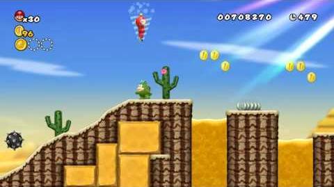 Newer_Super_Mario_Bros._Wii_World_2-5_Barrelband_Wilds_Star_Coins_and_Secret_Exit