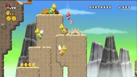 Newer_Super_Mario_Bros_Wii_World_7-2_Paratroopa_Peaks